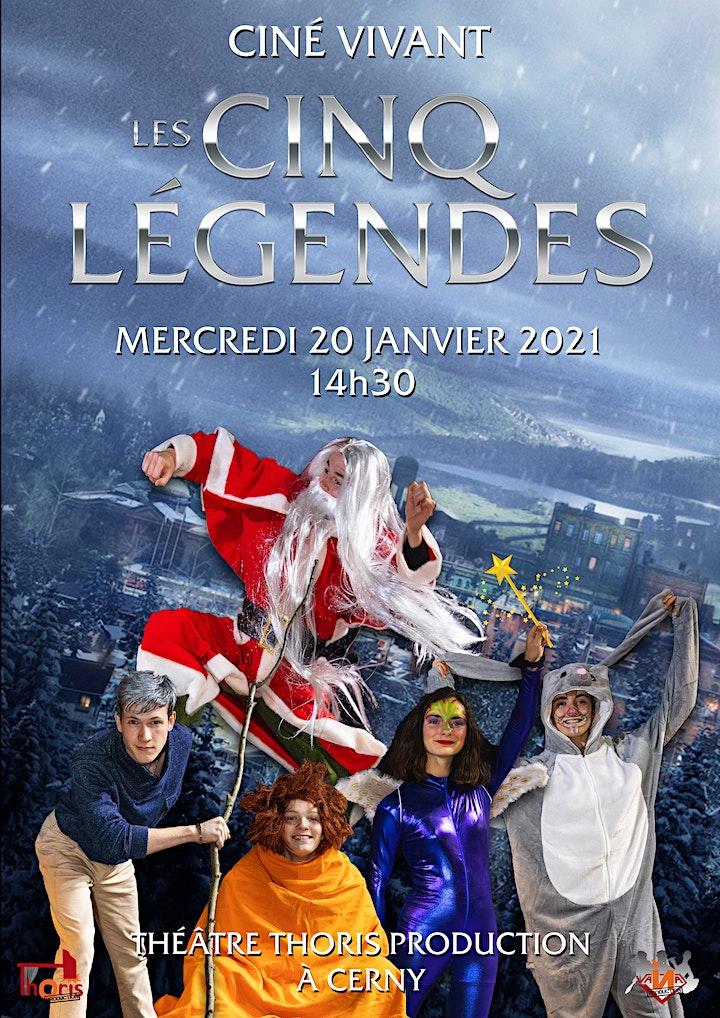 Image pour Ciné-Vivant / Les 5 légendes (dessin animé) VF