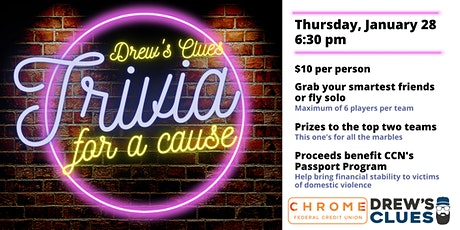 Drew's Clues for a Cause tickets
