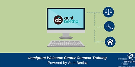 Immigrant Welcome Center Connect Resource Database Training tickets