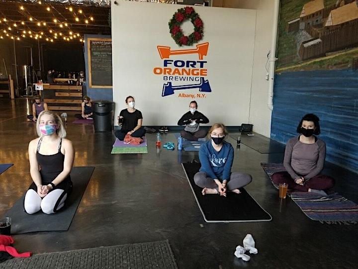 Yoga at Fort Orange Brewing May Edition! image