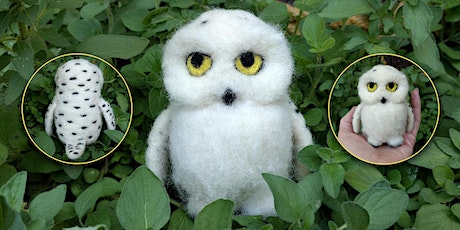 Needle Felt a Snowy Owl figure tickets