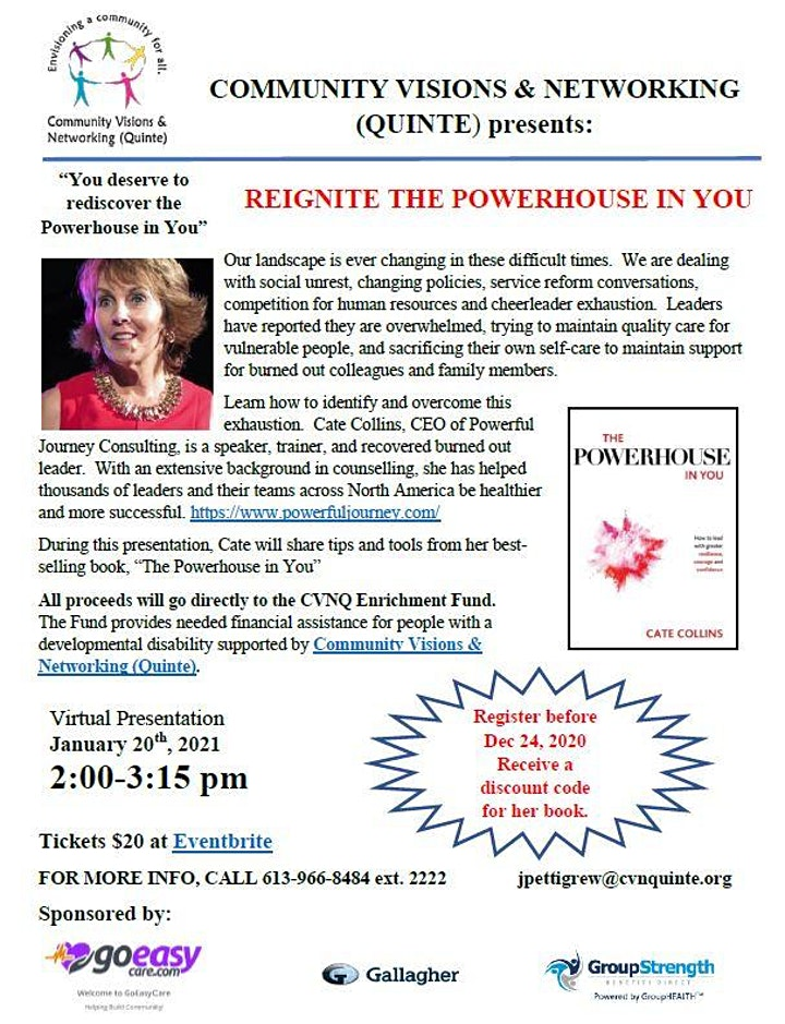 Reignite the Powerhouse in YOU image