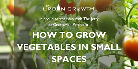How to Grow Vegetables in Small Spaces tickets