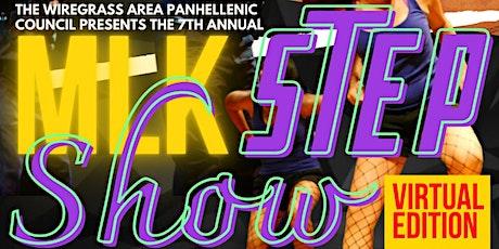 "7th Annual MLK Day ""All Virtual"" Greek Step Show tickets"