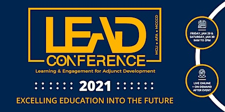 Learning & Engagement for Adjunct Faculty Development  (LEAD) Conference tickets