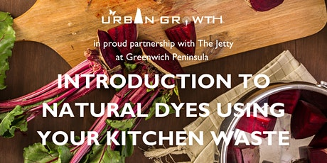 Introduction to Natural Dyes Using Your Kitchen Waste tickets