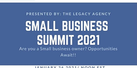 Small Business Summit 2021 tickets