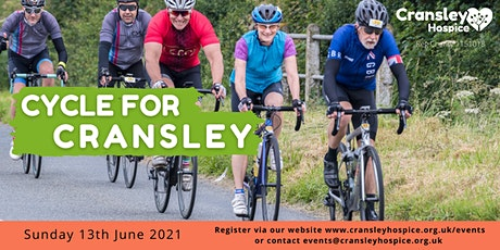 Cycle for Cransley -13th June 2021 tickets
