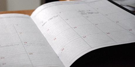 Apportez vos notes : planifiez votre étude billets