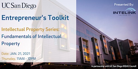 Entrepreneur's Toolkit: Fundamentals of Intellectual Property tickets