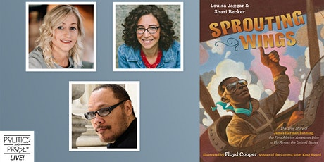 P&P Live! Louisa Jaggar, Shari Becker, and Floyd Cooper | SPROUTING WINGS tickets