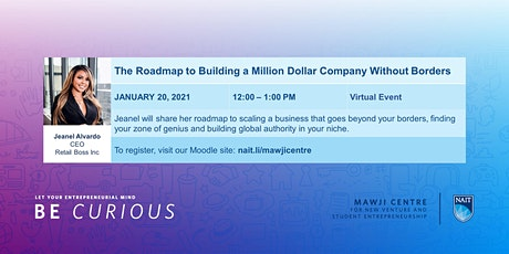 The Roadmap to Building a Million Dollar Company Without Borders tickets