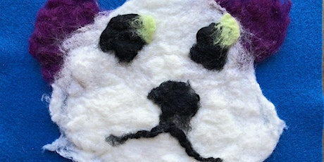 Virtual Vision Kids: Felted Faces - AM tickets