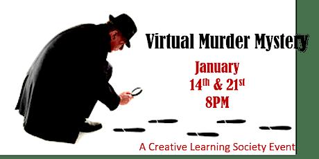Virtual Murder Mystery tickets