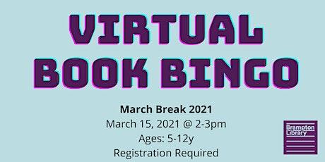 Virtual Book Bingo tickets