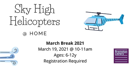 Sky High Helicopters @ Home tickets