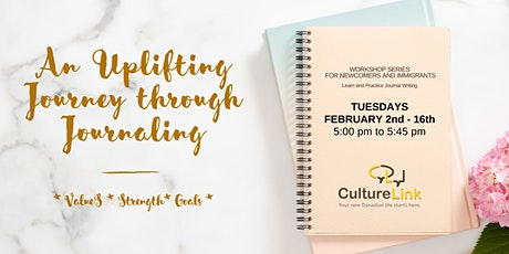 An Uplifting Journey through Journaling tickets