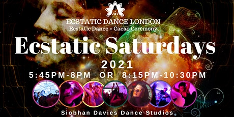 Ecstatic Saturdays INDOORS @ Siobhan Davies Studio: Ecstatic Dance & Cacao tickets