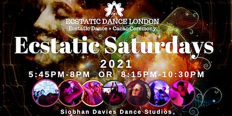 Ecstatic Saturdays INDOORS @ Siobhan Davies Studio: Ecstatic Dance & Cacao tickets