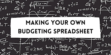 Making your Own Budgeting Spreadsheet tickets