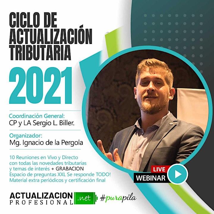 Imagen de CICLO DE ACTUALIZACIÓN TRIBUTARIA  2021