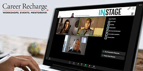 Career Recharge: InStage Live – Delivering Virtual Presentations tickets