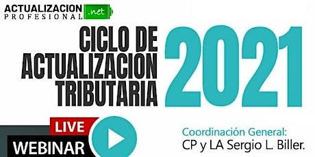 CICLO DE ACTUALIZACIÓN TRIBUTARIA -Año 2021- boletos