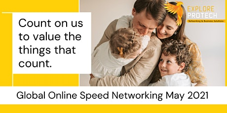 Global Online Speed Networking Event May 2021 tickets