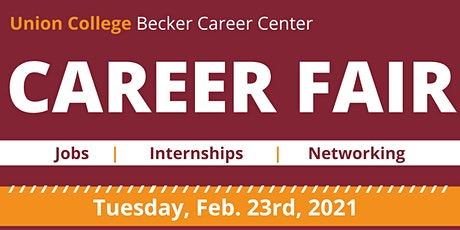 Union College Virtual Career Fair tickets