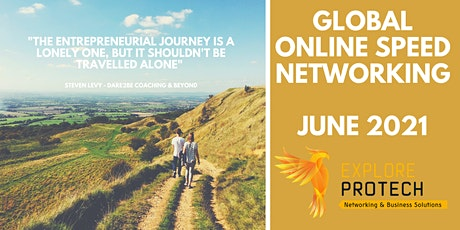 Global Online Speed Networking Event June 2021 ingressos