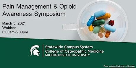 Pain Management & Opioid Awareness Symposium tickets