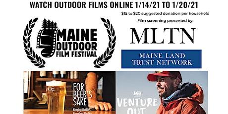 MLTN Maine Outdoor Film Festival Virtual Screening tickets