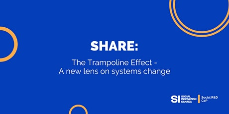 Social R&D Share Session: The Trampoline Effect tickets