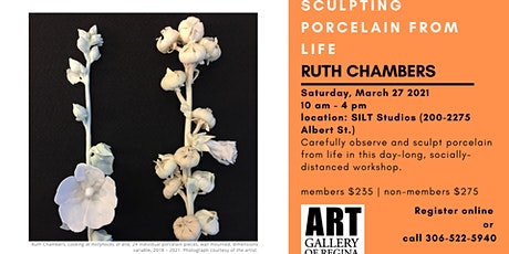 Sculpting Porcelain from Life with Ruth Chambers (in-person workshop) tickets