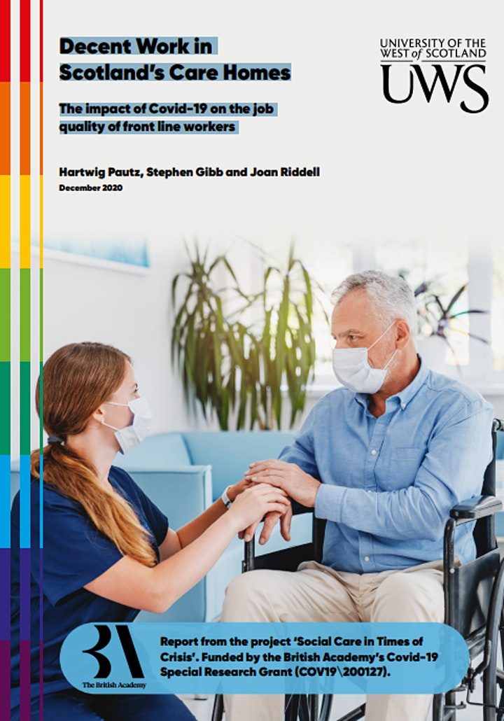 Decent Work in Scotland's Social Care Sector image