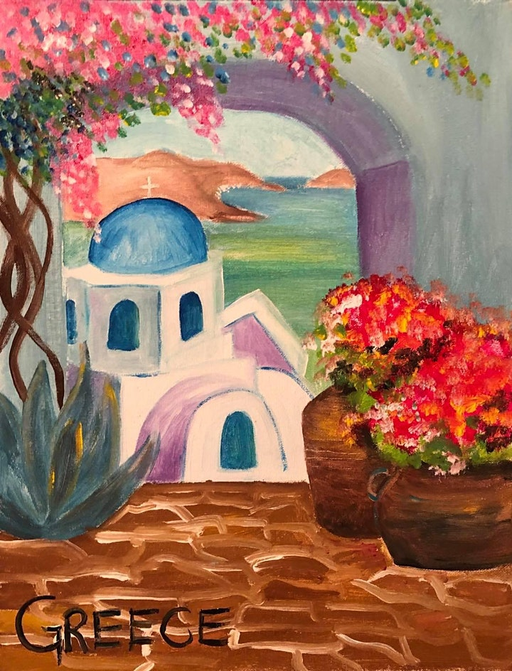 Paint Night in Bondi image