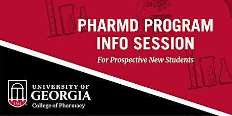 University of Georgia College of Pharmacy - PharmD Program Info Session tickets