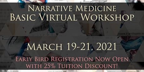 Narrative Medicine Spring Virtual Basic Workshop tickets