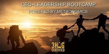 CEO+LEADERSHIP BOOTCAMP POWERED BY METRONOMICS tickets