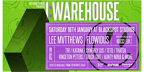 I:WAREHOUSE | POSTPONED - FULL REFUNDS AVAILABLE tickets