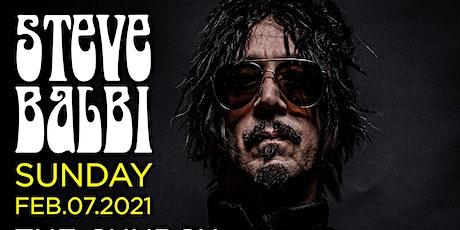 "STEVE BALBI  ""Live at the Church Bar"" tickets"