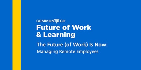 The Future (of Work) is Now: Managing Remote Employees tickets