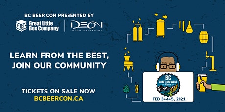 2021 Virtual BC Craft Brewers Conference tickets