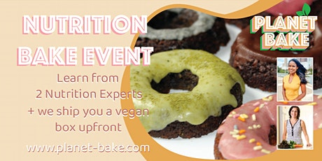 Virtual Vegan Nutritious Bake Event tickets