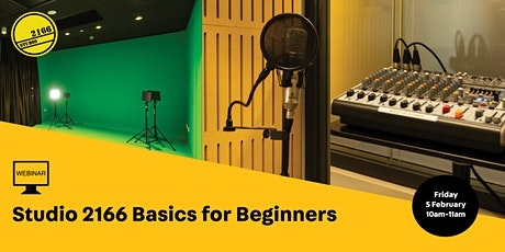 Studio 2166 for Beginners tickets