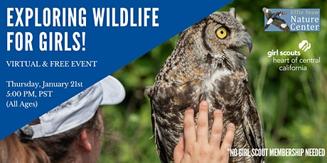 Exploring Wildlife for Girls! Hosted by Girl Scouts (VIRTUAL & FREE) tickets