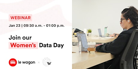 Le Wagon x WAI - Participate in our upcoming Women's Data Day tickets