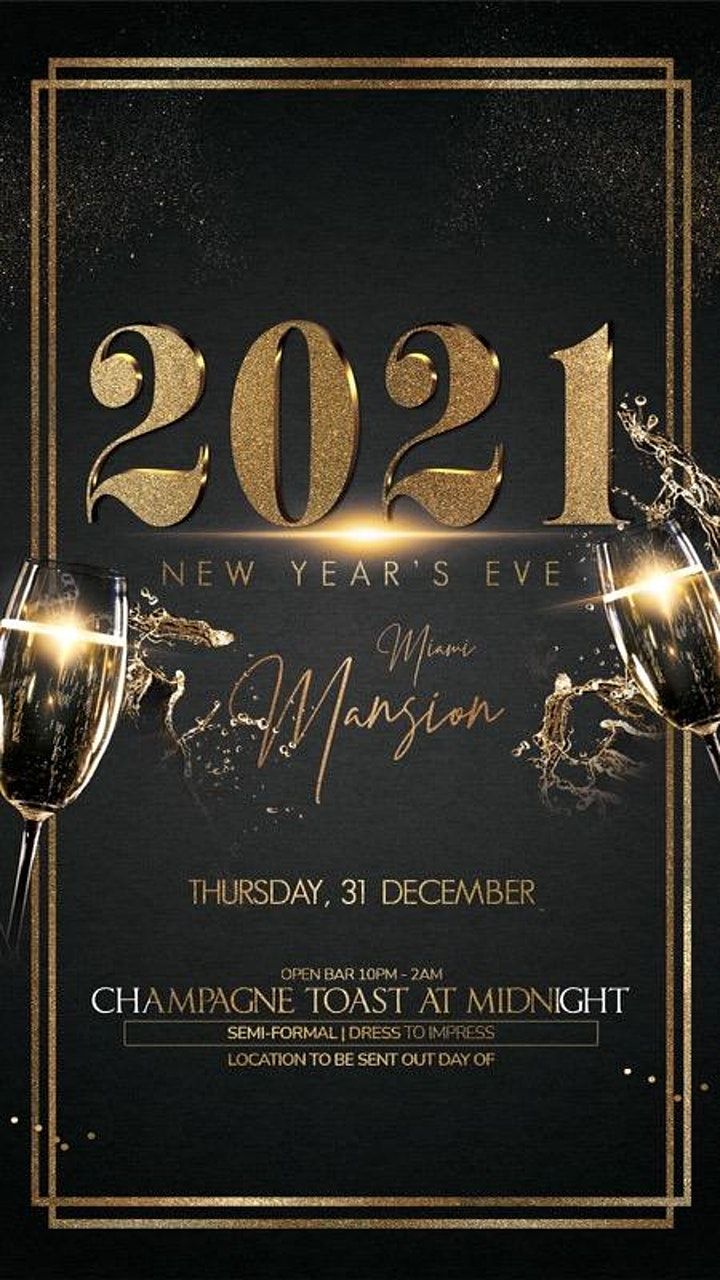 New Years Eve 2021 Miami Soirée image