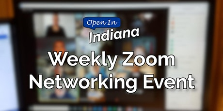 Open In Indiana Networking on Zoom tickets