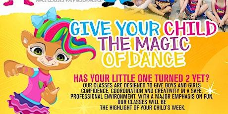 SJ's Beginners Free Dance Workshop (2-5yrs) tickets